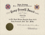 Camp Growth Award