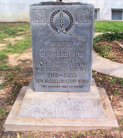 Franklin County Civil War Monument